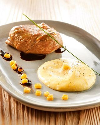 FILET AGNEAU PUREE DE MAIS bd